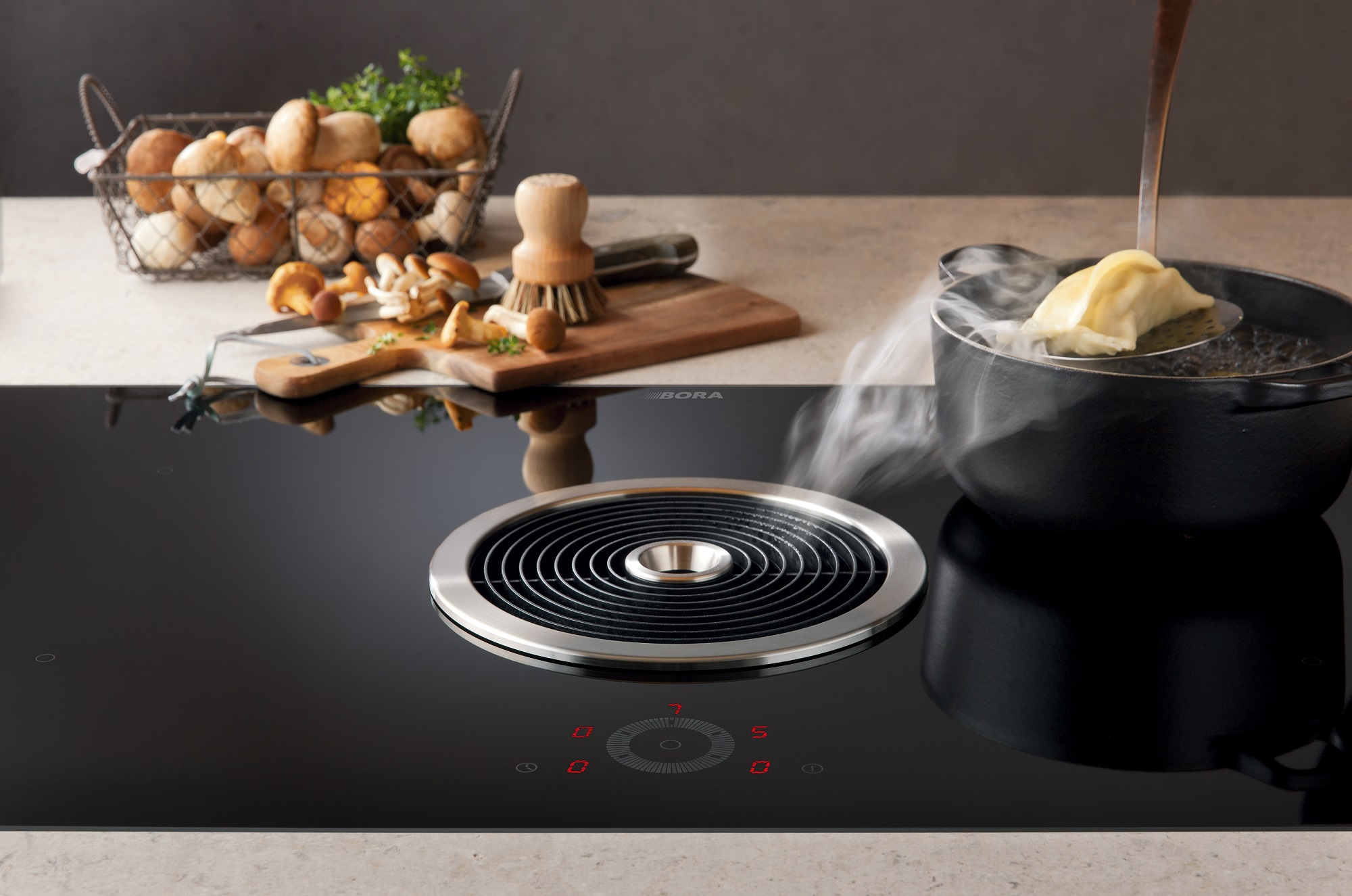 BORA Basic: Kochfeld und Kochfeldabzug als kompaktes System für jede ...