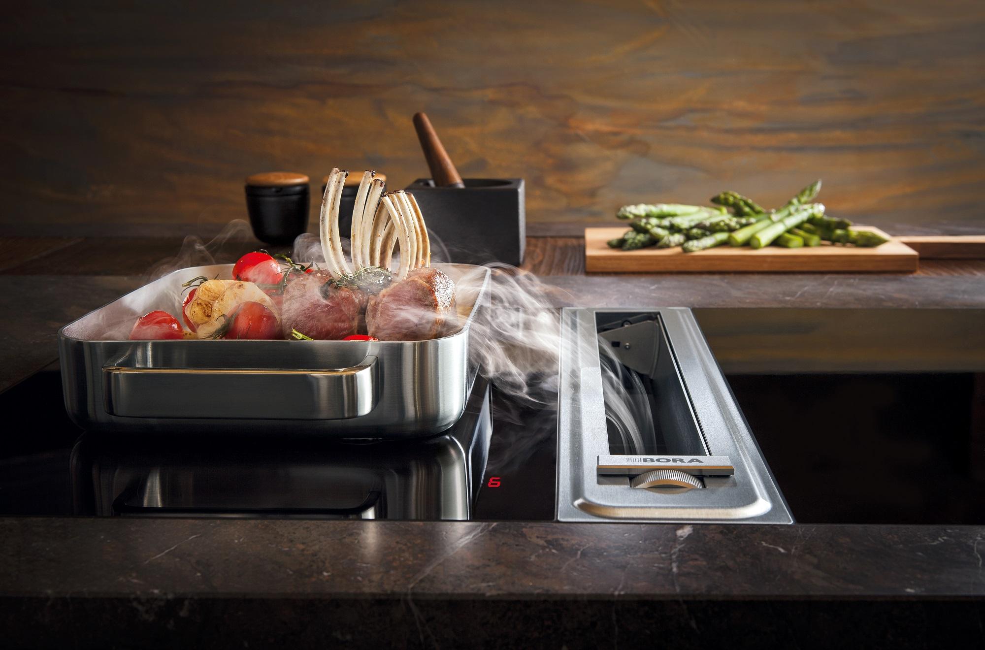 Bora professional kochen auf höchstem niveau area u design