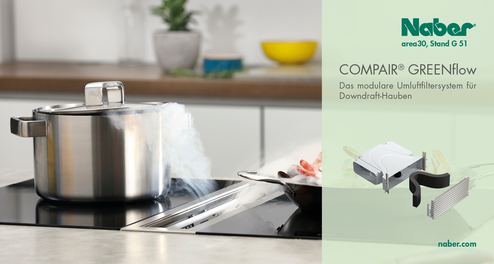 Orderfachmesse | area30 – design. kitchen. technics.